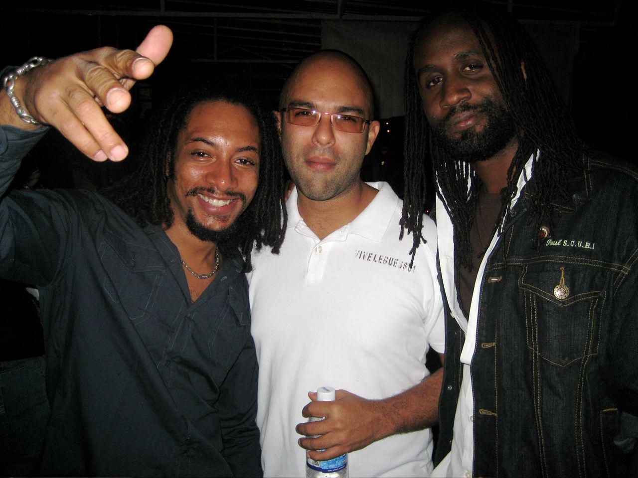 Rootz Crew: Colin, Jeffrey, S.C.U.B.I.