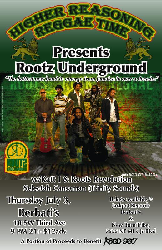 Rootz U show July 3