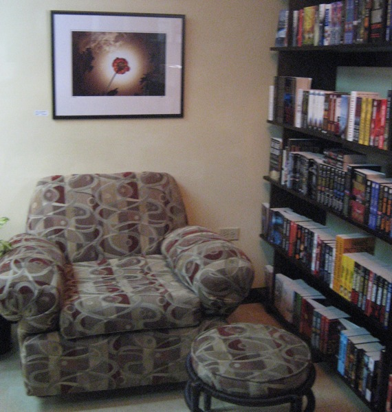 Bookophilia chair