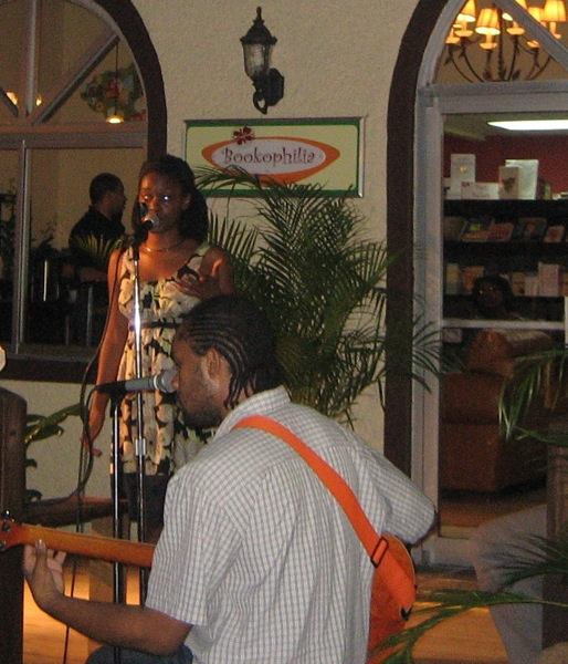 Night performance at Bookophilia