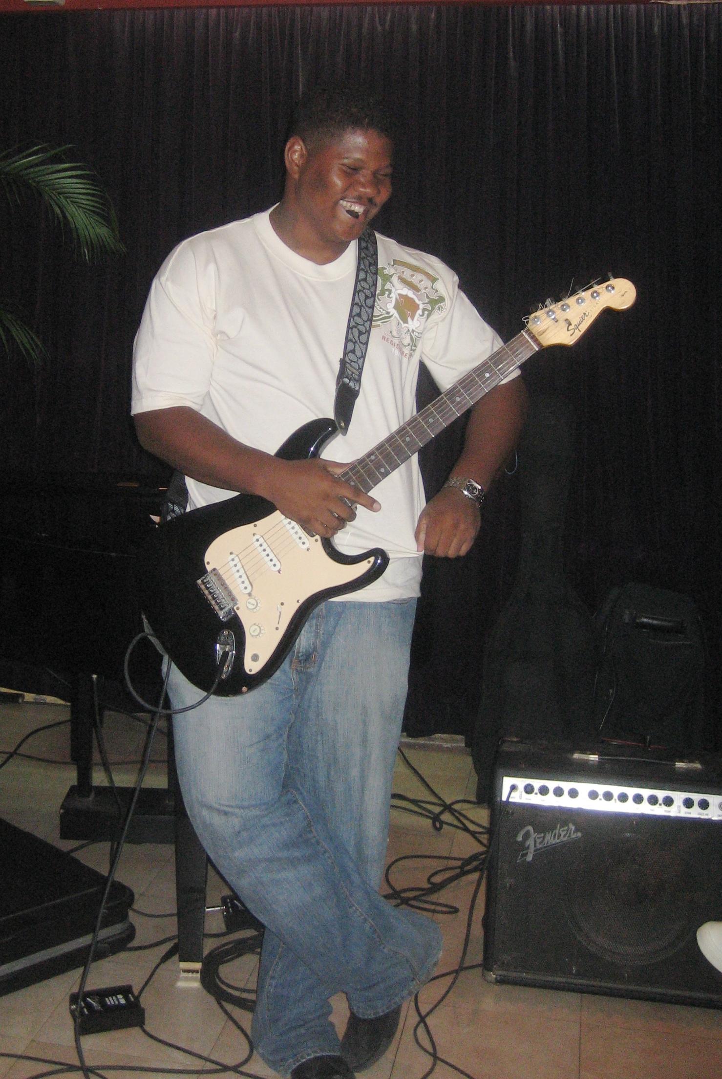 Gas Money Guitarist