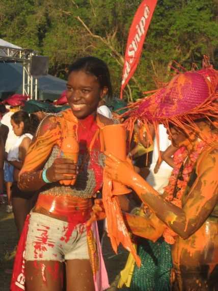 What's J'ouvert without paint?
