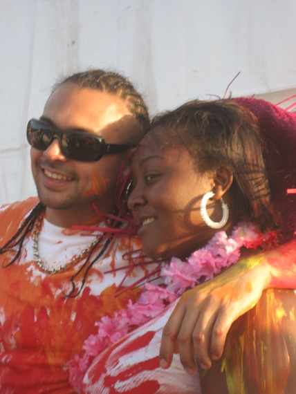 Sean Paul and fan coolin' out