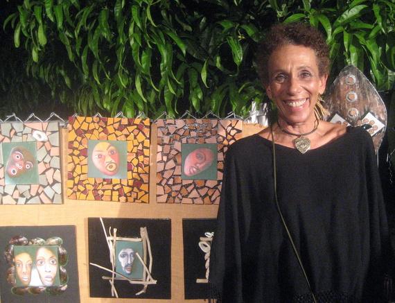 Nancy Bourke of Inansi Art
