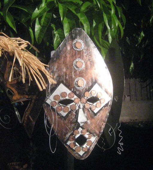 Nancy Bourke's masks