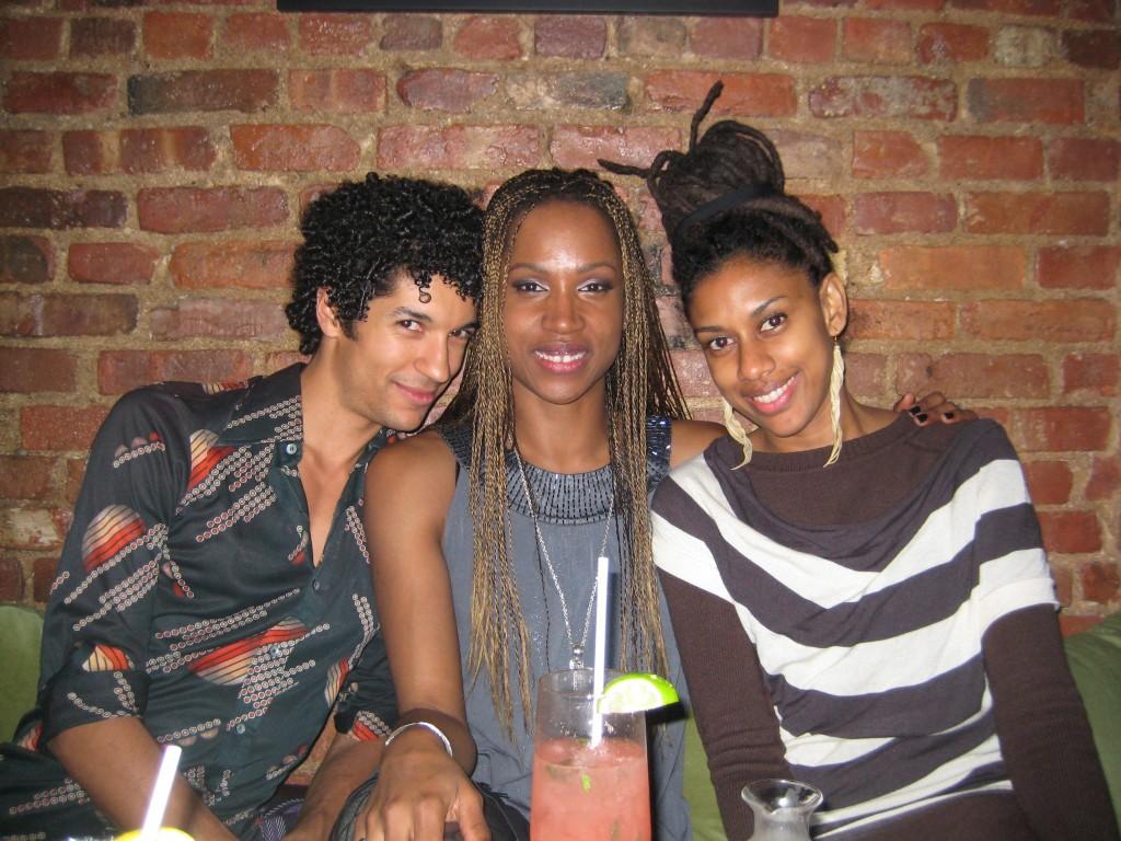 Jamaican dancers in NYC Justin Lynch, Berette Macaulay, Anishka Clarke