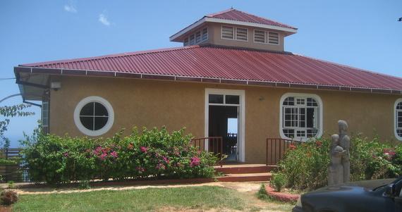 The visitors centre