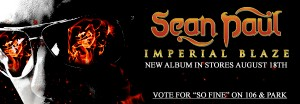 Sean Paul Releases Second Single from New Album Imperial ...