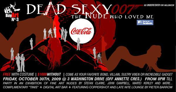 Dead Sexy Buy Art 3 Flyer