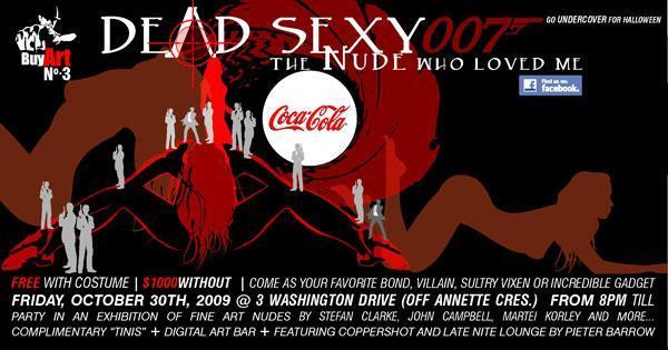 Dead Sexy Buy Art 3 Flyer