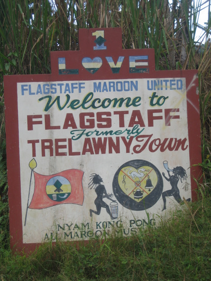 Sign at entrance to Flagstaff