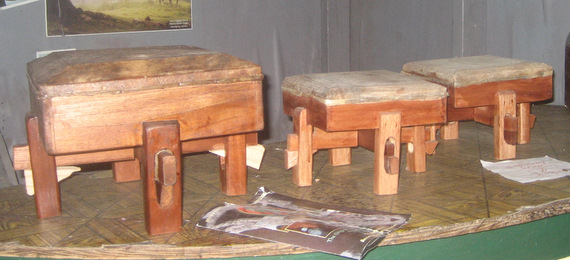 Hand made drums for sale in Accompong
