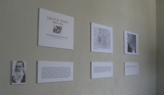 Explaining the history of Trench Town