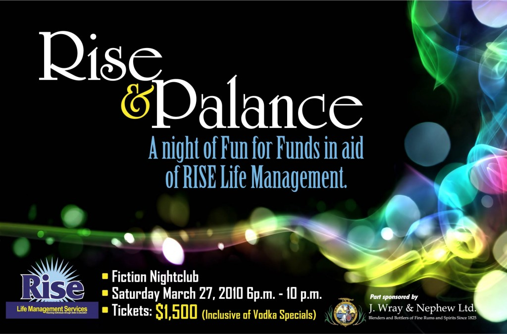 RISE FUNDRAISER March 27 2010