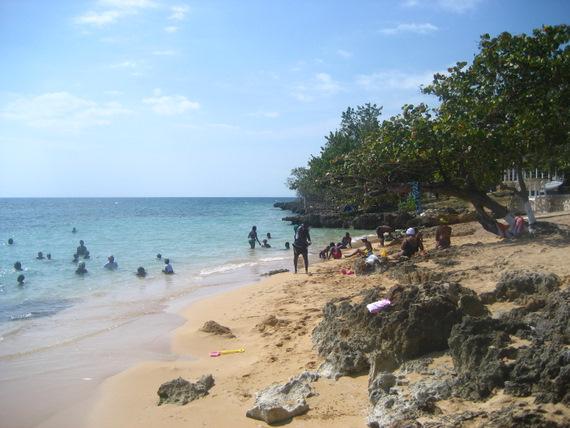 Beach at Font Hill