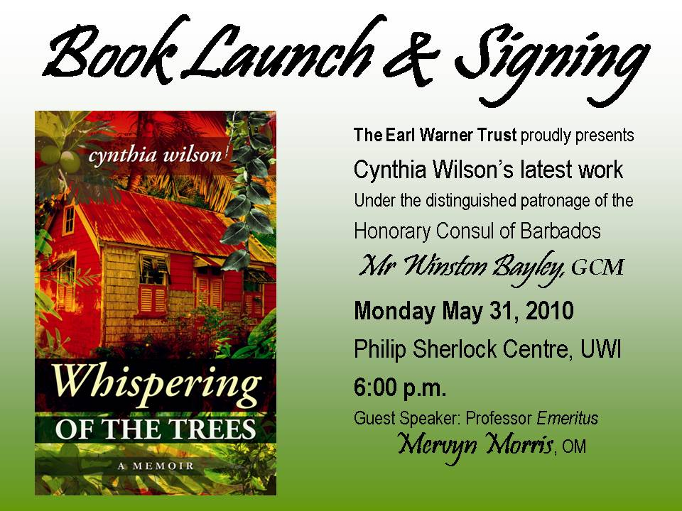 Cynthia Wilson Book Launch