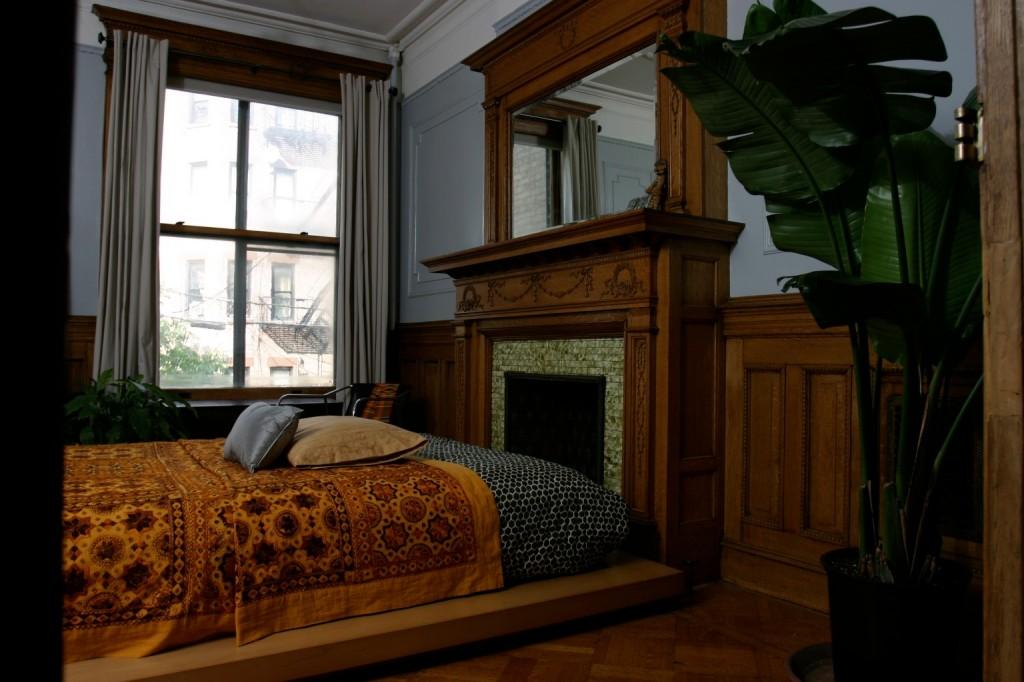 Master Bedroom in Brooklyn limestone town-house