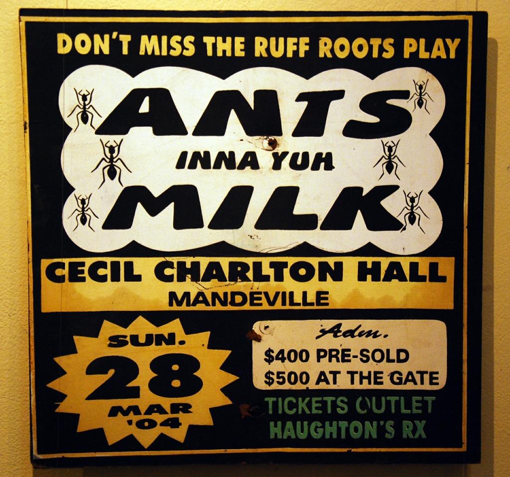 Ant inna yuh milk