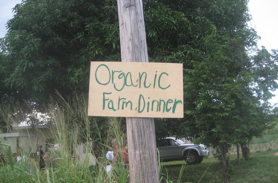 Organic Farm Dinner