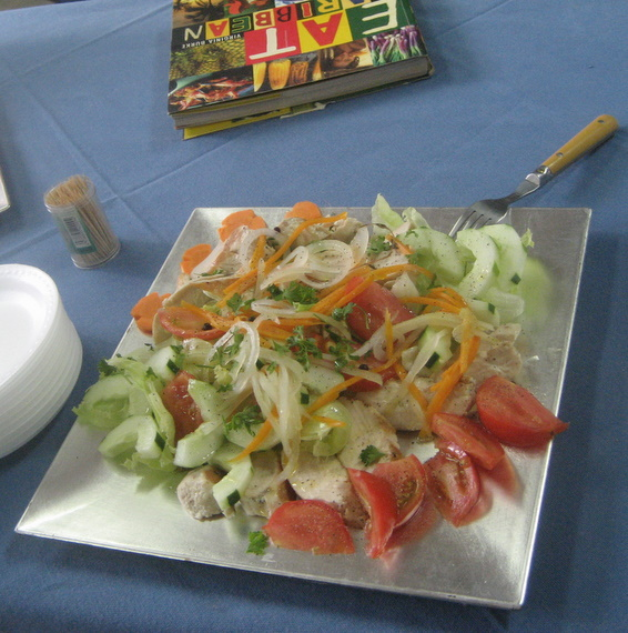Escoveitched fish salad