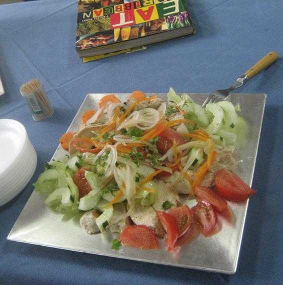 Escoveitched fish salad