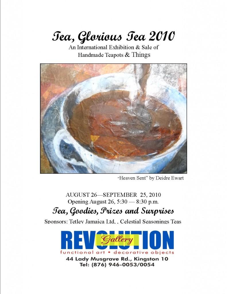 Tea Glorious tea 2010 - Form & FUNction