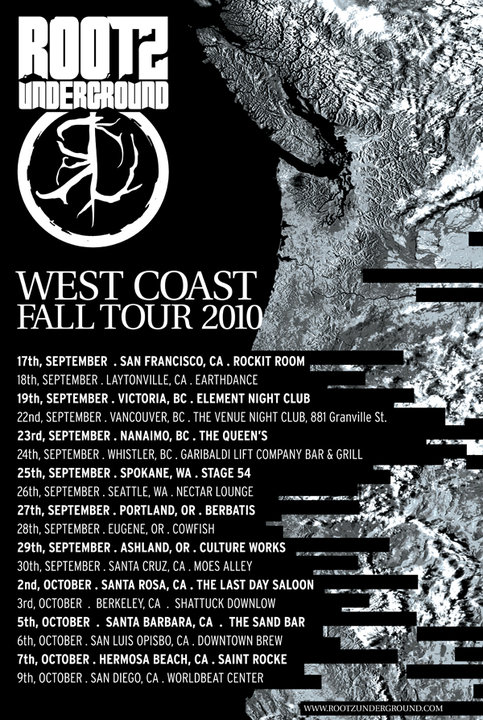 rootswestcoasttour