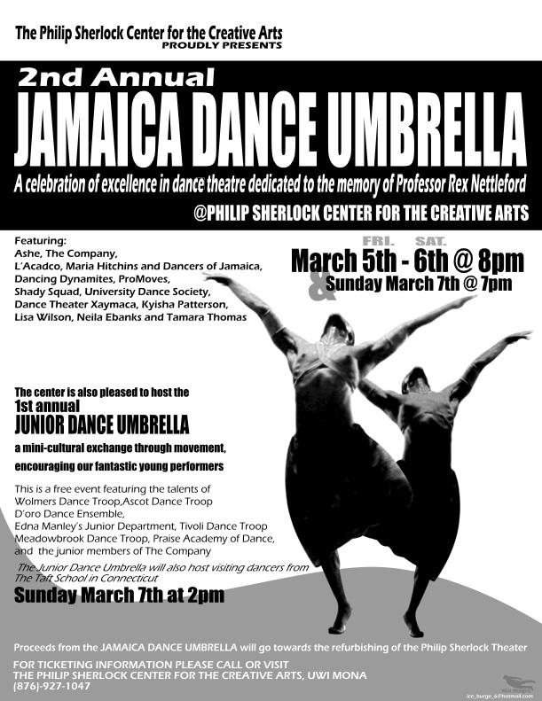 JAMAICA DANCE UMBRELLA