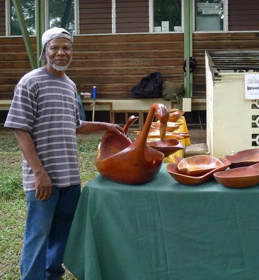 Jamaican woodwork