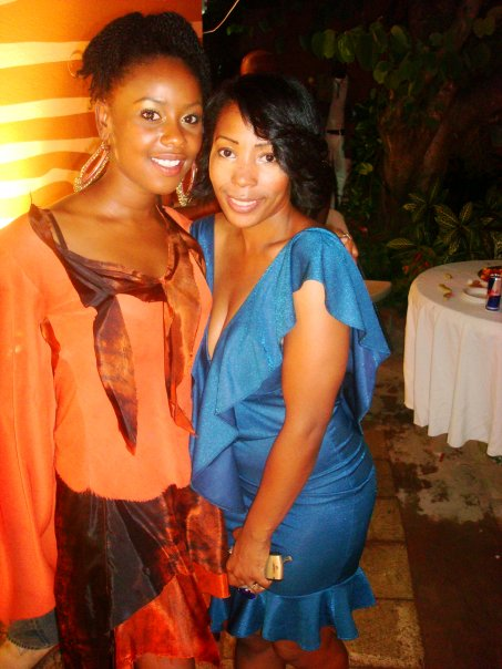 Empress Mullings and Nadia Stanley