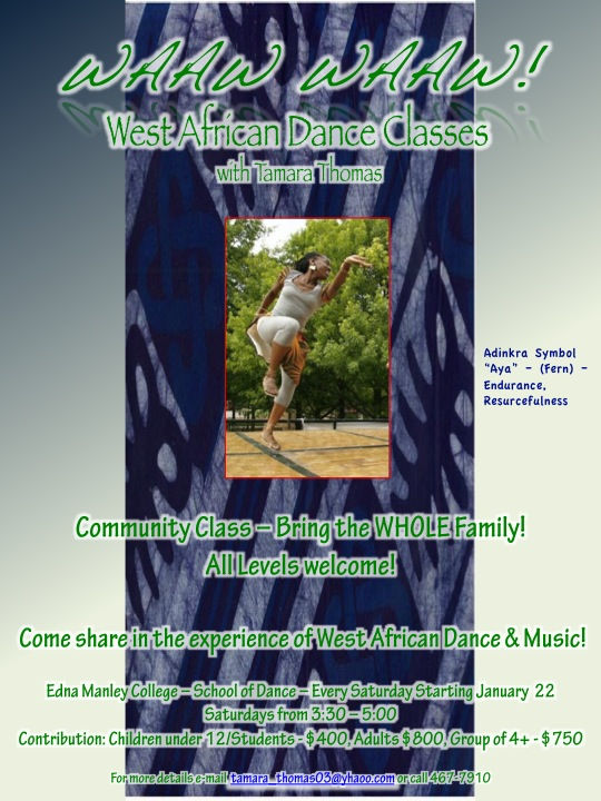 African Dance Classes in Kingston