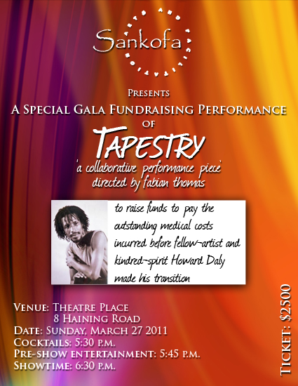 Tapestry Gala 2011 Ticket