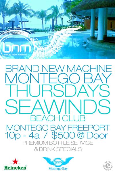 Brand New Machine Montego Bay