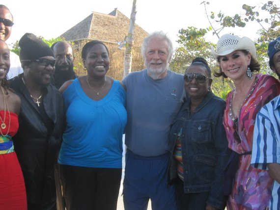 Chris Blackwell and friends