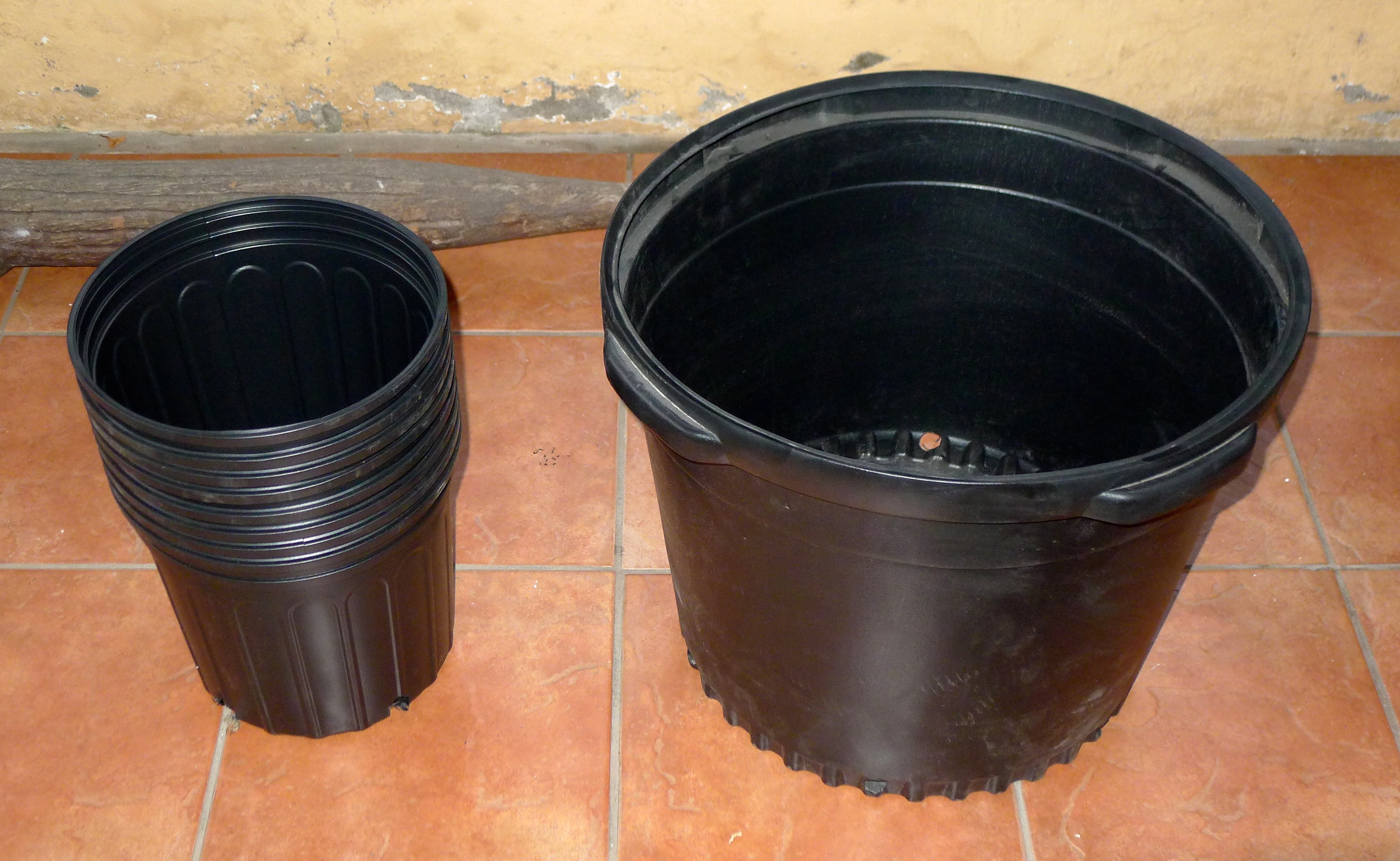 Pots + Composter