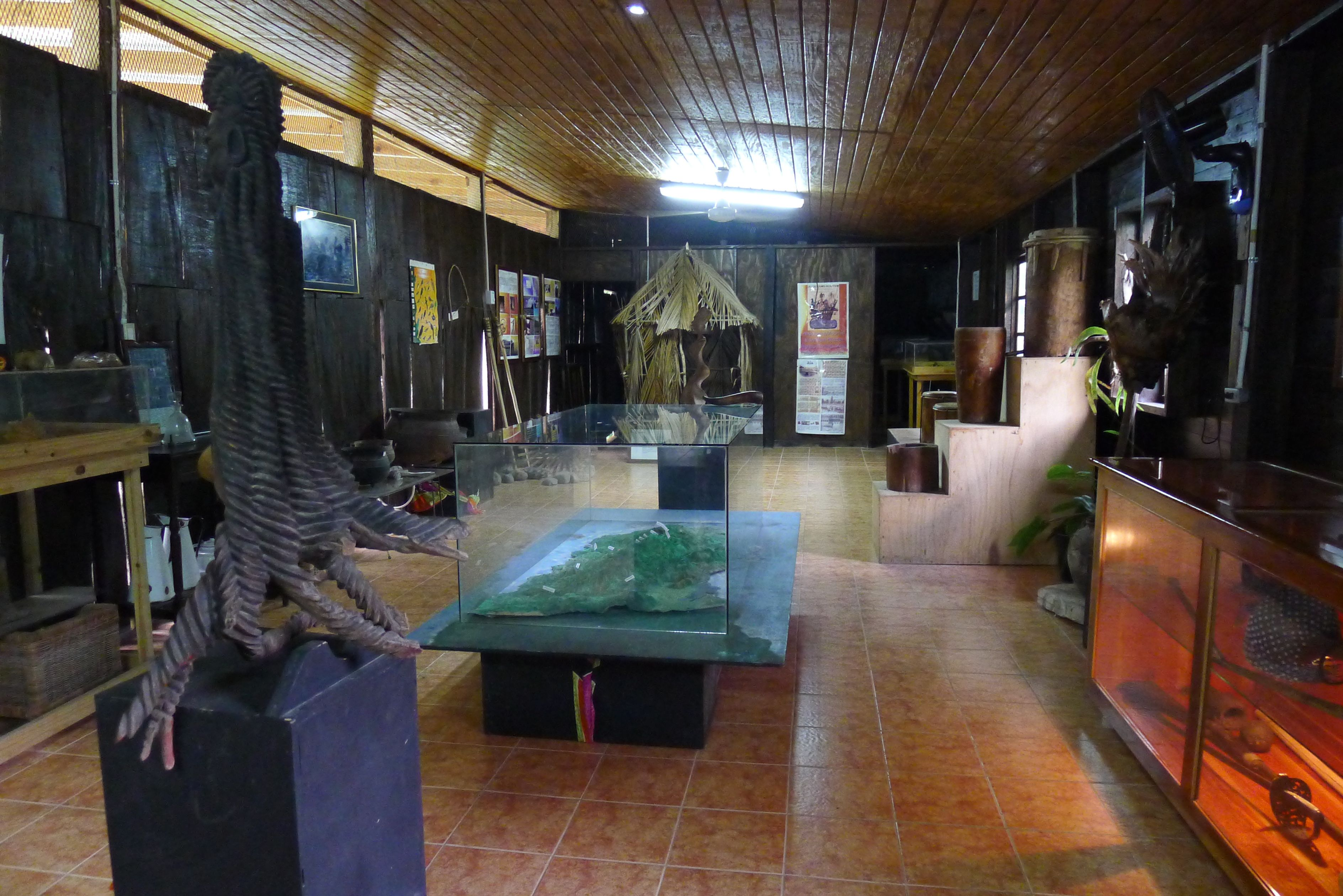 The Maroon Museum in Charles Town, Portland, Jamaica