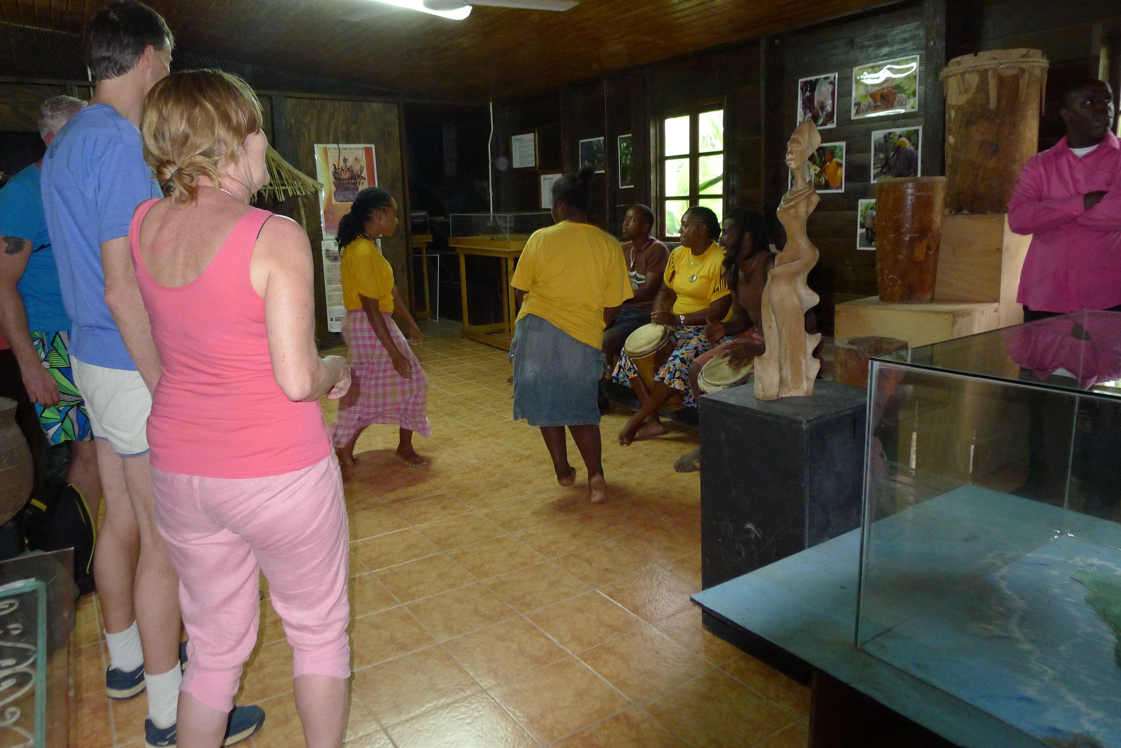 Dancers in Charles Town, Maroon Museum
