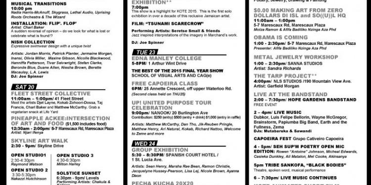 KOTE2015_Schedule