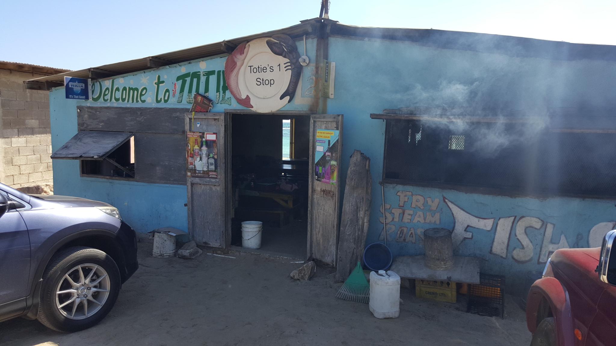 Totie's One Stop, Hellshire Beach, Jamaica