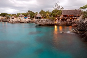 Jamaica's rocky coastline