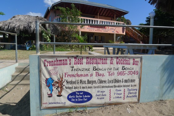 Frenchman's Reef Restaurant, Treasure Beach, Jamaica