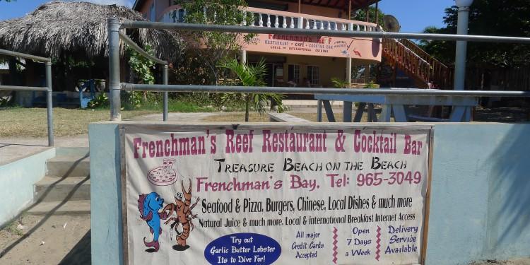 Frenchman's Reef Restaurant, Treasure Beach, Jamaica