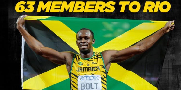 Team Jamaica Rio 2016