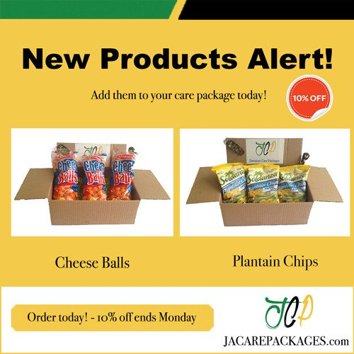 Jamaica Care Packages