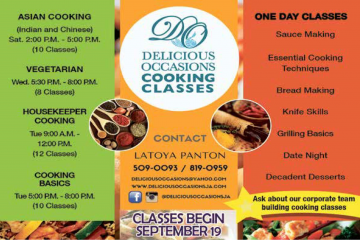 Cooking Classes in Kingston