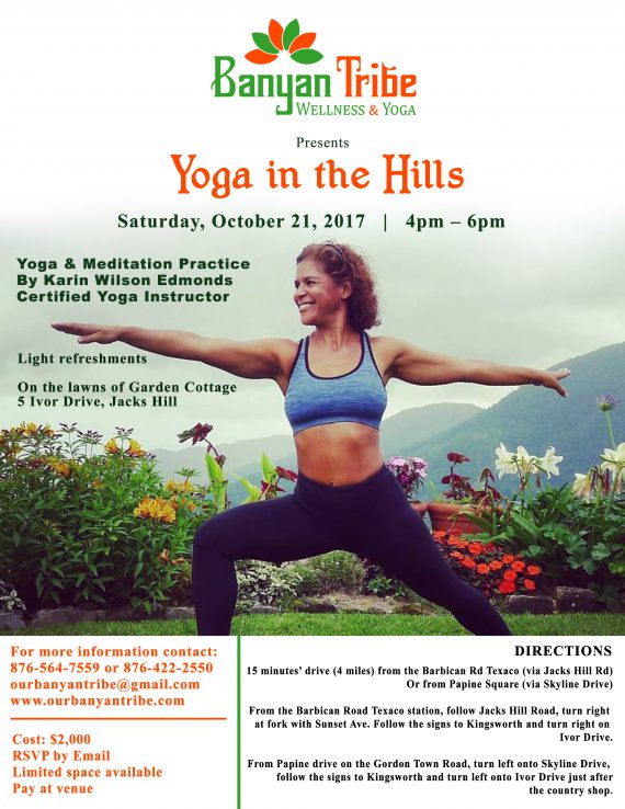 Yoga in the Hills, Kingston, Jamaica