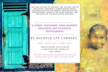Jamaican Artist Michele Lee Lambert