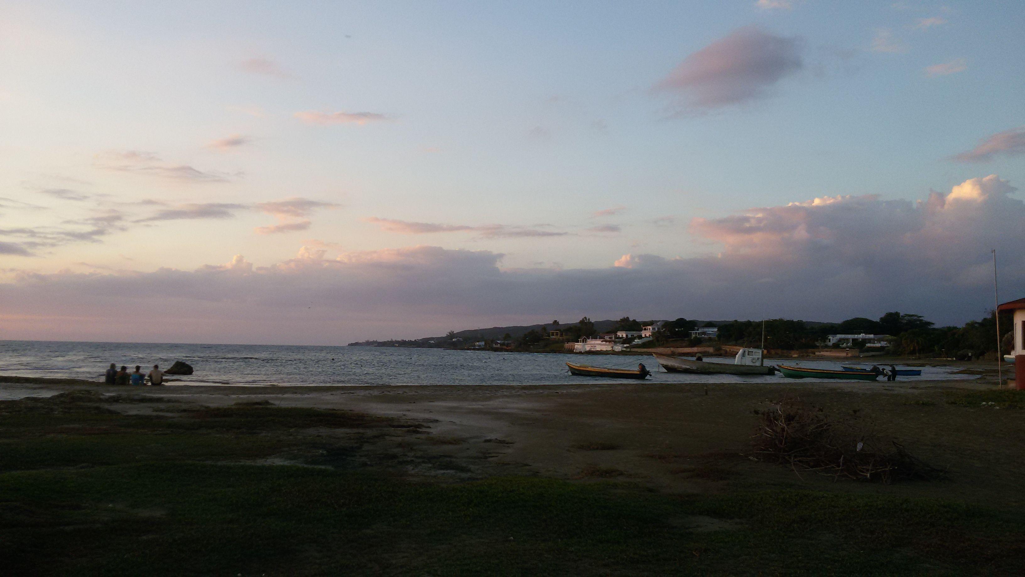 A Jamaican fishing village, Treasure Beach, St. Elizabeth